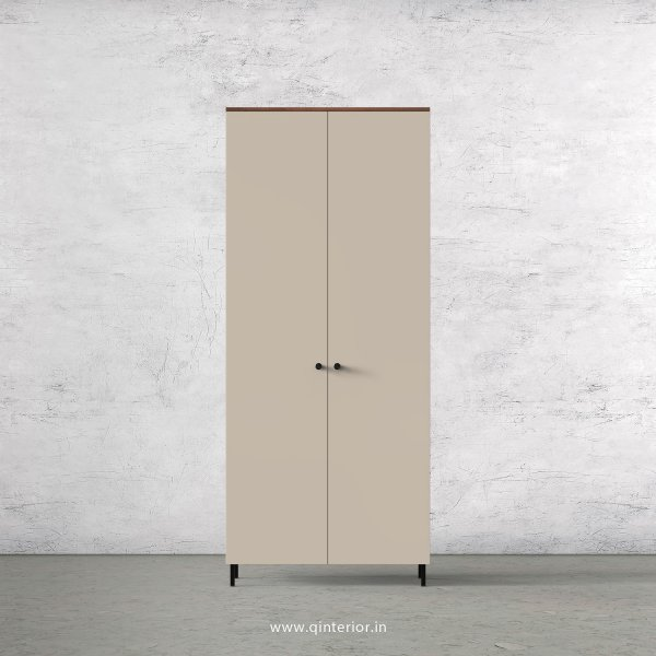 Lambent 2 Door Wardrobe in Teak and Irish Cream Finish – DWRD001 C11