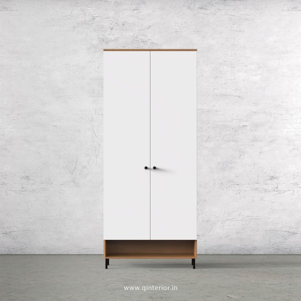 Lambent 2 Door Wardrobe in Oak and White Finish – DWRD019 C8