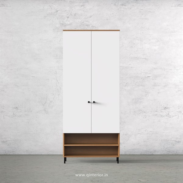 Lambent 2 Door Wardrobe in Oak and White Finish – DWRD024 C8