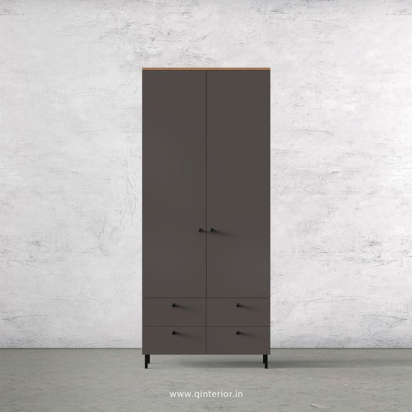 Lambent 2 Door Wardrobe in Oak and Slate Finish – DWRD003 C19