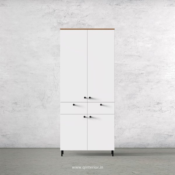 Lambent 2 Door Wardrobe in Oak and White Finish – DWRD014 C8