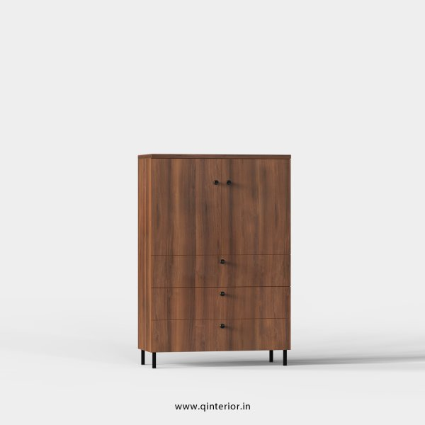 Stable Office File Storage in Teak Finish - OFS022 C3