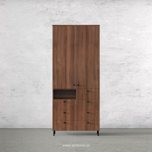 Stable 2 Door Wardrobe in Teak Finish – DWRD052 C3