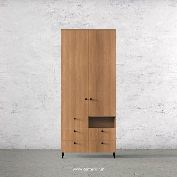 Stable 2 Door Wardrobe in Oak Finish – DWRD034 C2