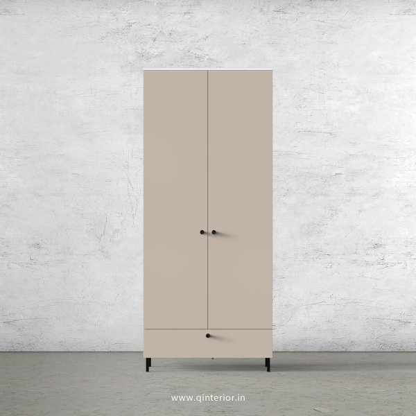 Lambent 2 Door Wardrobe in White and Irish Cream Finish – DWRD021 C88