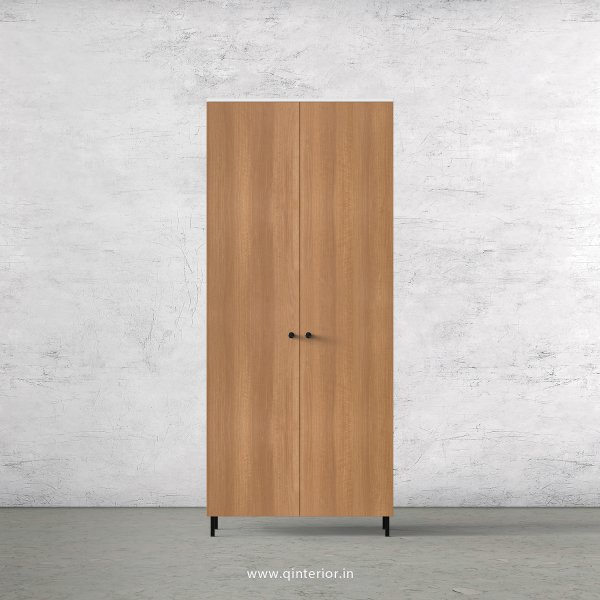 Lambent 2 Door Wardrobe in White and Oak Finish – DWRD001 C86