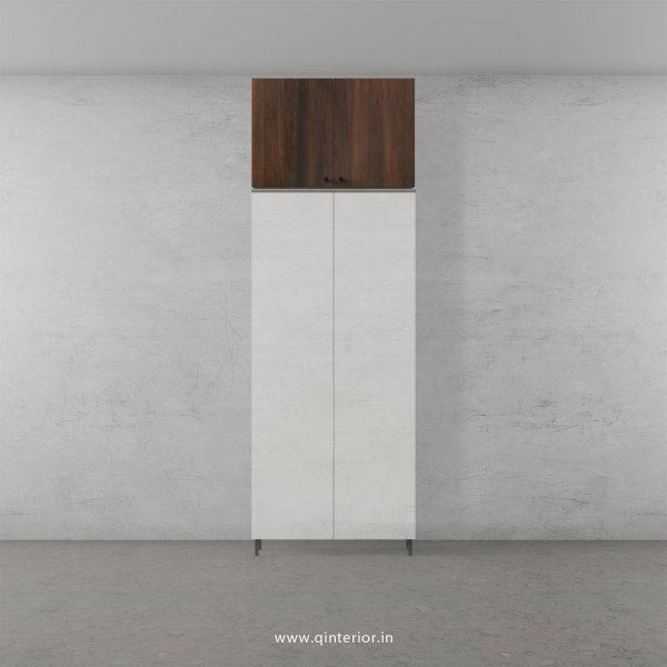 Lambent Loft Unit in White and Walnut Finish - LFT005 C67