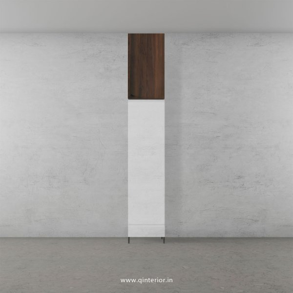 Lambent Loft Unit in White and Walnut Finish - LFT003 C67
