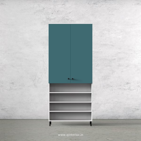 Lambent 2 Door Wardrobe in White and Shore Finish – DWRD043 C12