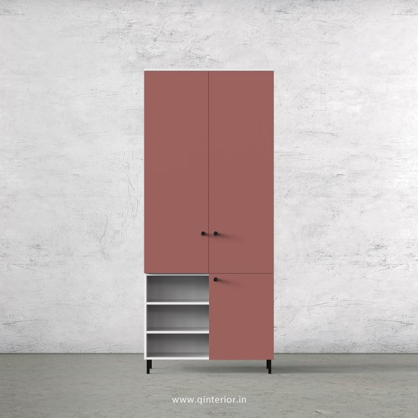 Lambent 2 Door Wardrobe in White and Blush Finish – DWRD039 C17