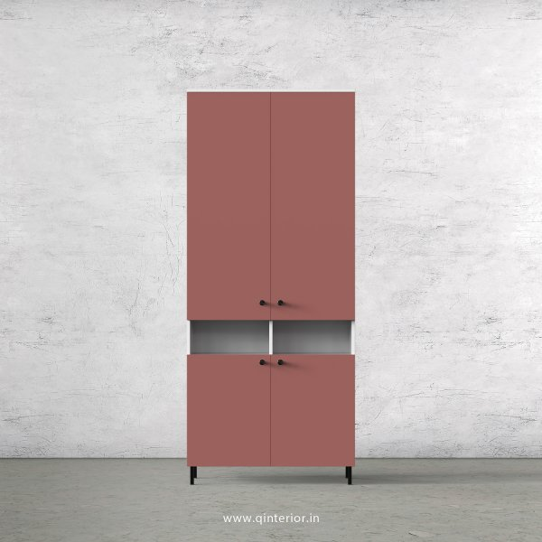 Lambent 2 Door Wardrobe in White and Blush Finish – DWRD056 C17