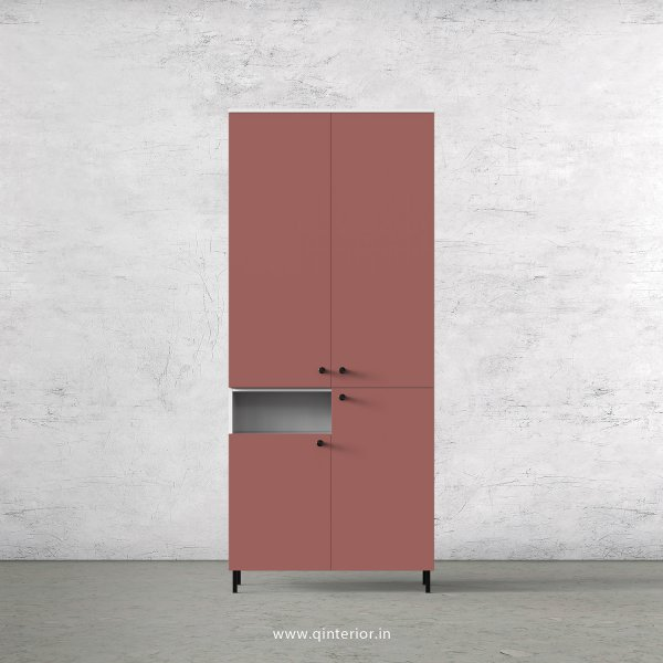 Lambent 2 Door Wardrobe in White and Blush Finish – DWRD058 C17