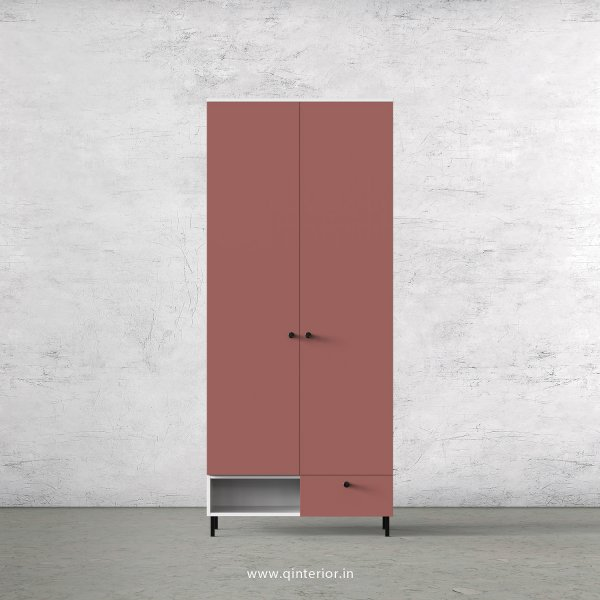 Lambent 2 Door Wardrobe in White and Blush Finish – DWRD023 C17