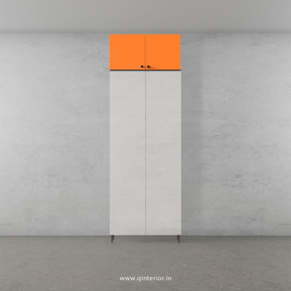 Lambent Loft Unit in White and Saffron Finish - LFT004 C90