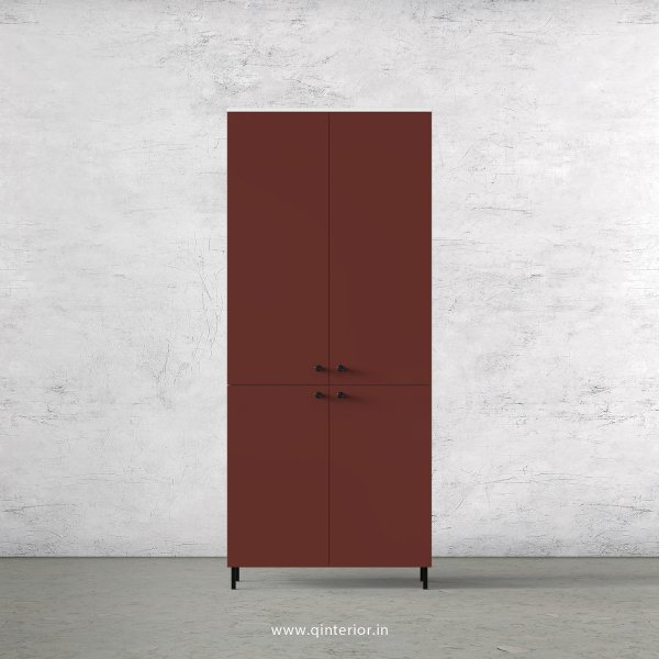 Lambent 2 Door Wardrobe in White and Shangrilla Finish – DWRD013 C14