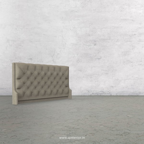 Scorpius Bed Headboard in Cotton Plain - BHB002 CP01