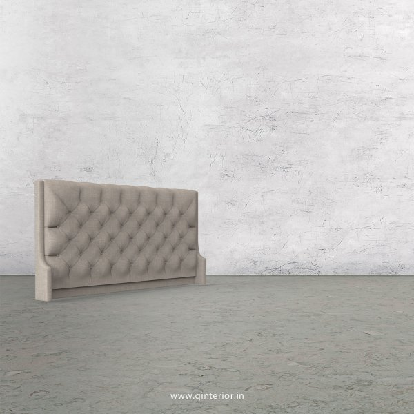 Scorpius Bed Headboard in Cotton Plain - BHB002 CP02