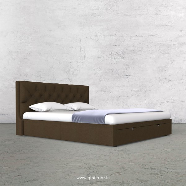 Scorpius Queen Storage Bed in Cotton Plain - QBD001 CP10