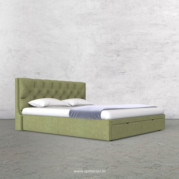 Scorpius Queen Storage Bed in Cotton Plain - QBD001 CP18