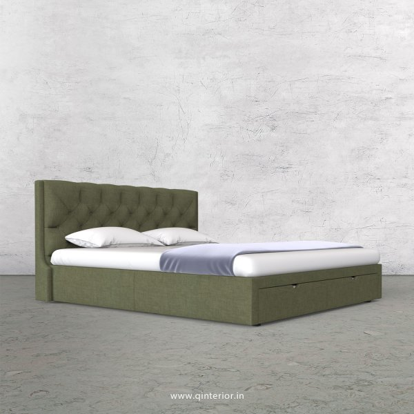 Scorpius Queen Storage Bed in Cotton Plain - QBD001 CP20