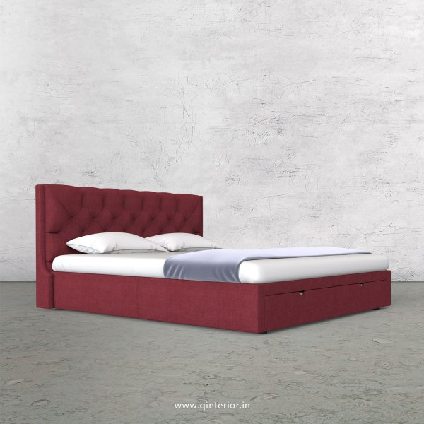 Scorpius Queen Storage Bed in Cotton Plain - QBD001 CP24