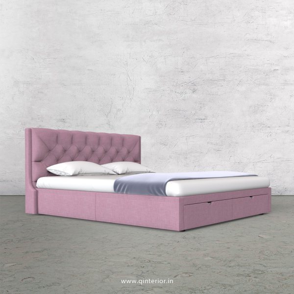 Scorpius Queen Storage Bed in Cotton Plain - QBD001 CP27