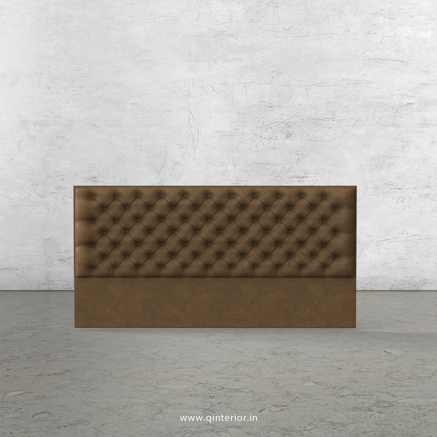 Orion Bed Headboard in Fab Leather Fabric - BHB001 FL02