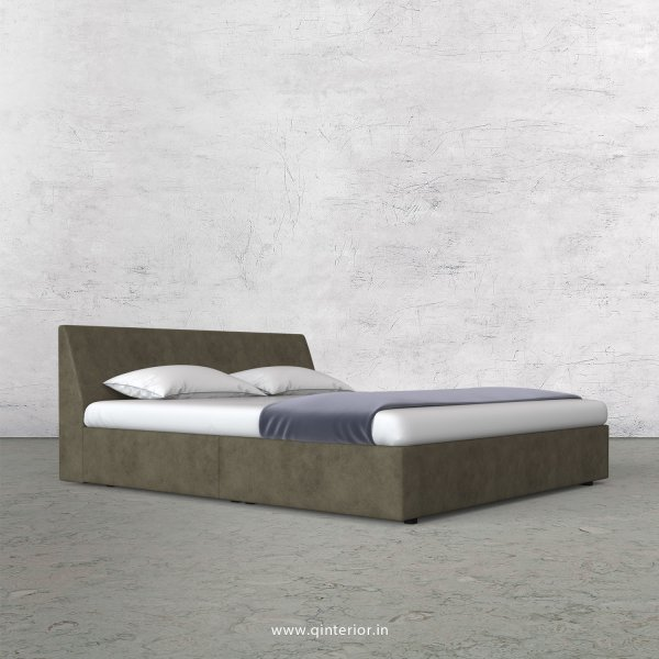 Viva King Size Bed in Fab Leather Fabric - KBD009 FL03