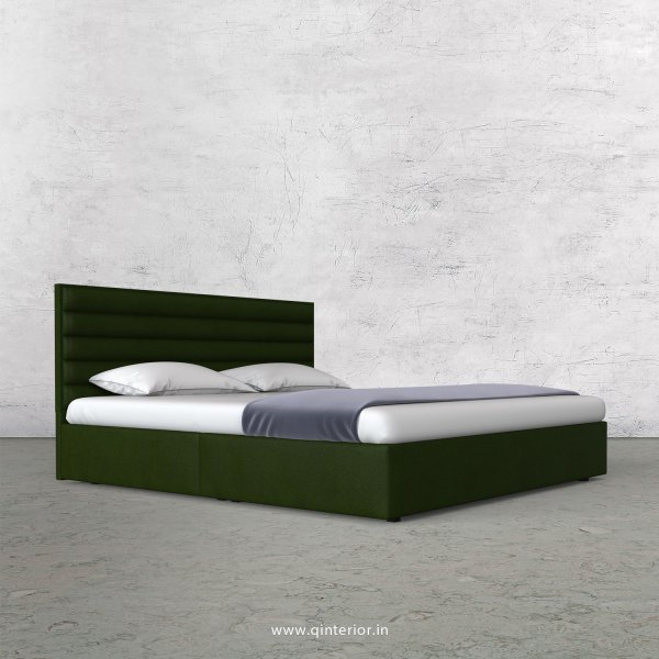 Crux King Size Bed in Fab Leather Fabric - KBD009 FL04
