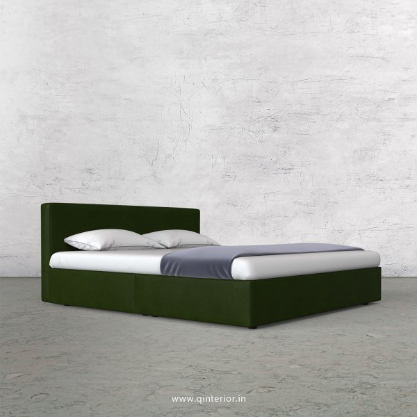 Nirvana Queen Bed in Fab Leather Fabric - QBD009 FL04