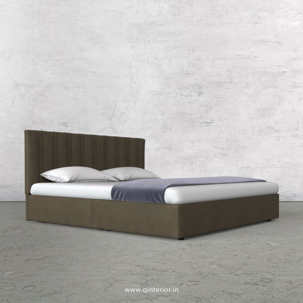 Leo Queen Bed in Fab Leather Fabric - QBD009 FL06