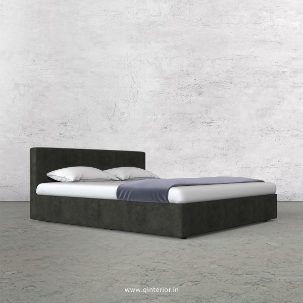Nirvana Queen Bed in Fab Leather Fabric - QBD009 FL07