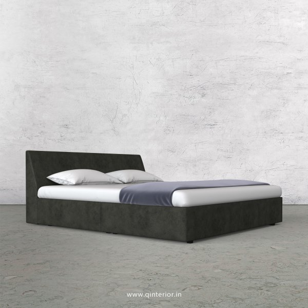 Viva Queen Sized Bed in Fab Leather Fabric - QBD009 FL07