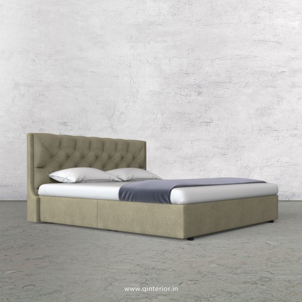 Scorpius King Size Bed in Fab Leather Fabric - KBD009 FL10