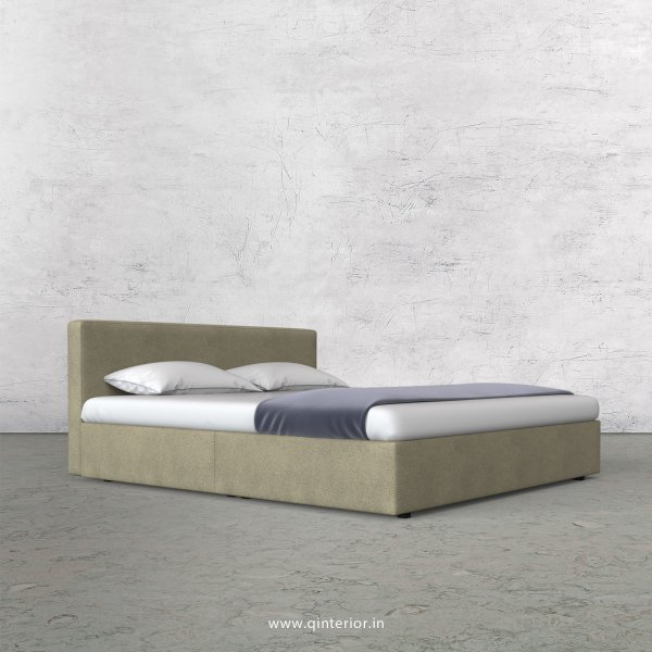 Nirvana Queen Bed in Fab Leather Fabric - QBD009 FL10
