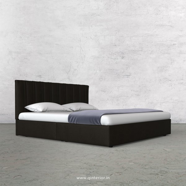 Leo Queen Bed in Fab Leather Fabric - QBD009 FL11