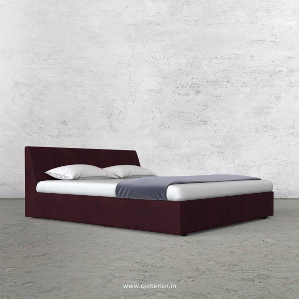 Viva Queen Sized Bed in Fab Leather Fabric - QBD009 FL12