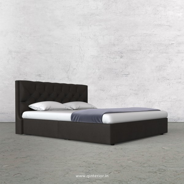 Scorpius Queen Bed in Fab Leather Fabric - QBD009 FL15