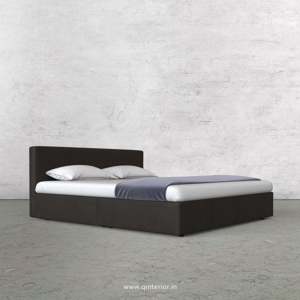 Nirvana King Size Bed in Fab Leather Fabric - KBD009 FL15