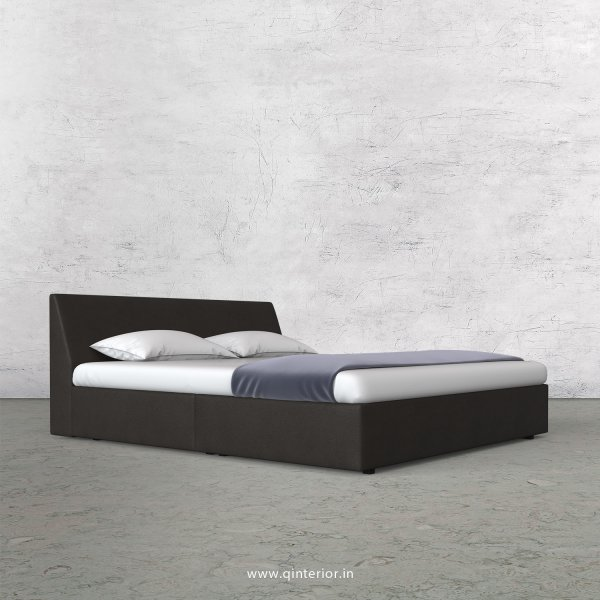 Viva King Sized Bed in Fab Leather Fabric - KBD009 FL15