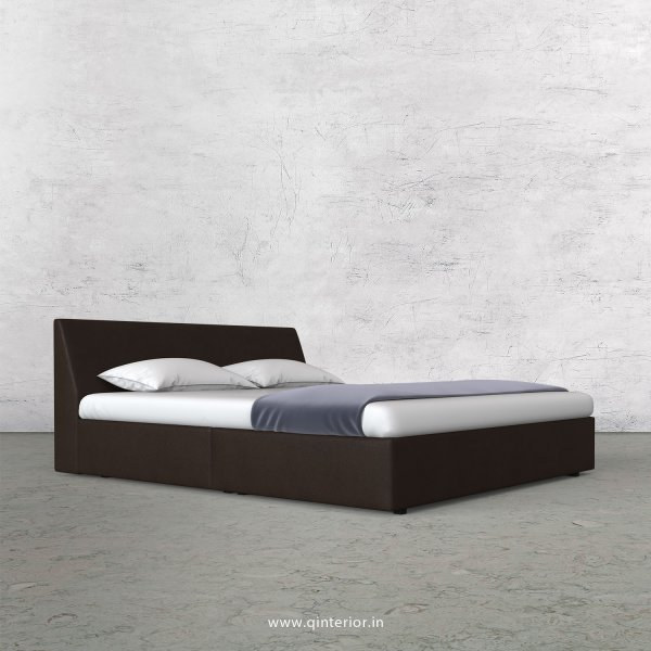 Viva King Sized Bed in Fab Leather Fabric - KBD009 FL16