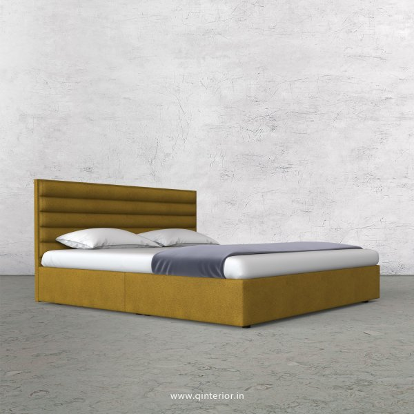 Crux Queen Bed in Fab Leather Fabric - QBD009 FL18