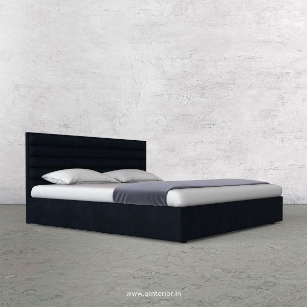 Crux King Size Bed in Fab Leather Fabric - KBD009 FL05