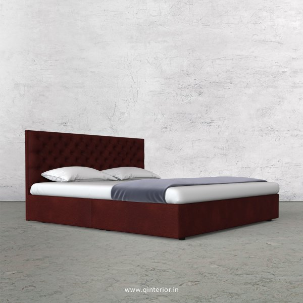 Orion Queen Bed in Fab Leather Fabric - QBD009 FL08