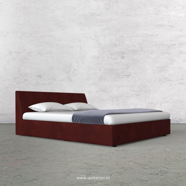Viva Queen Sized Bed in Fab Leather Fabric - QBD009 FL08