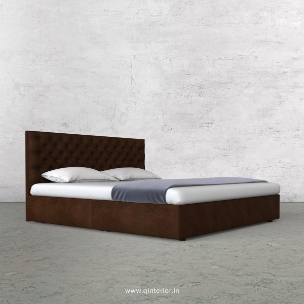 Orion Queen Bed in Fab Leather Fabric - QBD009 FL09