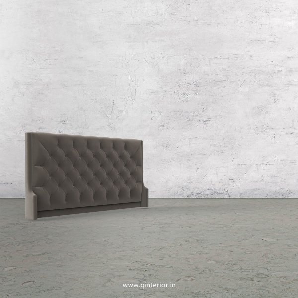 Scorpius Bed Headboard in Velvet Fabric - BHB002 VL12