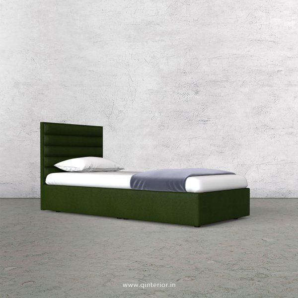 Crux Single Bed in Fab Leather Fabric - SBD009 FL04