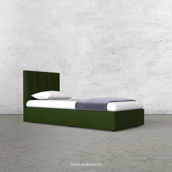 Leo Single Bed in Fab Leather Fabric - SBD009 FL04