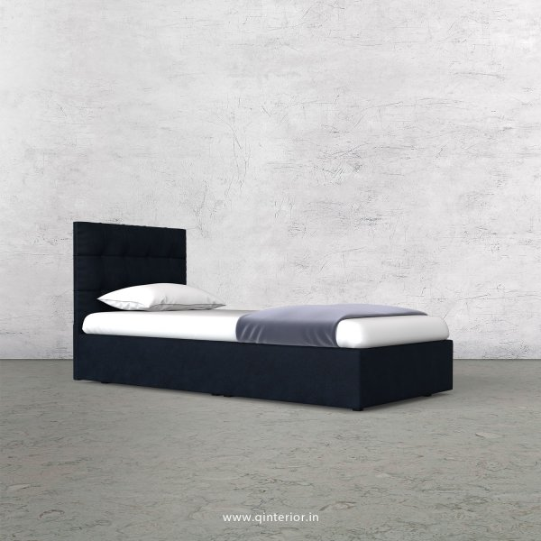 Lyra Single Bed in Fab Leather Fabric - SBD009 FL05